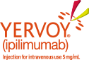 YERVOY® (ipilimumab) Injection for intravenous use 5 mg/mL